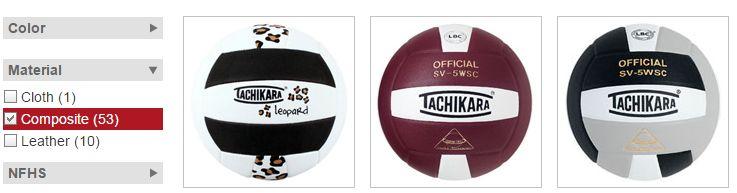 composite-volleyballs