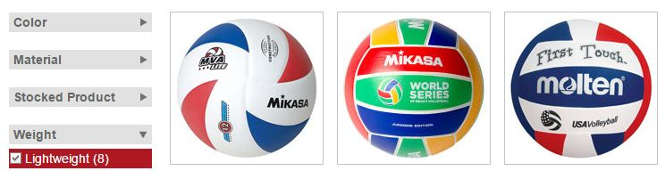 lightweight-volleyballs