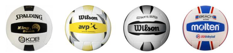 Premium outdoor beach volleyballs