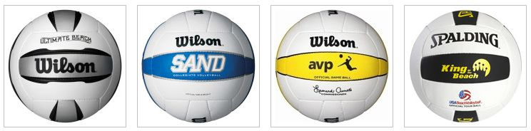 Premium outdoor beach volleyballs