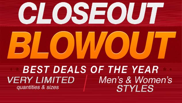 Closeout Blowout