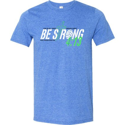 GameFaith - Be Strong Volleyball T-Shirt