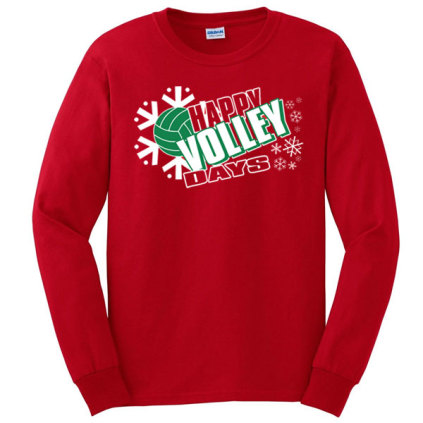 Happy Volleydays Long Sleeve T-Shirt