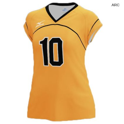 Mizuno Women's 440379 (Custom / Sublimated) Cap Sleeve Jersey