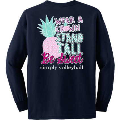 Stand Tall Long Sleeve Volleyball T-Shirt