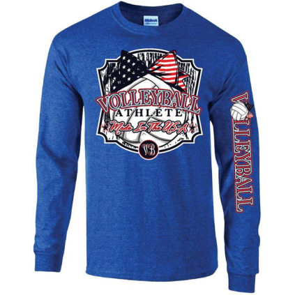 Volleyball Athlete Long Sleeve T-Shirt
