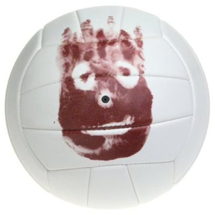 Wilson H4615 Cast Away Mr. Wilson Replica Volleyball