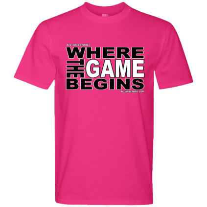 Where The Game Begins T-Shirt