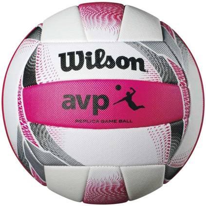 Wilson AVP II Replica Beach Volleyball - Pink