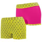 Power Yellow Plexus Print/Power Pink