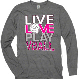 Live, Love, Play Long Sleeve T-Shirt