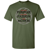 GameFaith - Live With Purpose Volleyball T-Shirt