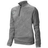 Mizuno Unisex 1/2 Zip Fleece Pullover