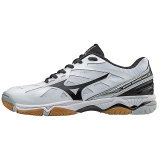 Mizuno Women's Wave Hurricane 3 - White/Silver