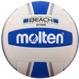 Molten BV5000-SB Elite Beach Volleyball - Blue/Silver