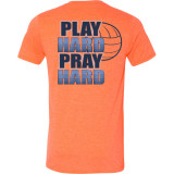 GameFaith - Play Hard, Pray Hard Volleyball T-Shirt