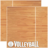 Scrapbook Page - Volleyball Real Sports