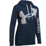 Under Armour Exploded Logo Volleyball Hoodie - Navy