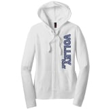 Volleyball Chevron Full Zip Hoodie