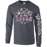 Volleyball Is My Arrow Long Sleeve T-Shirt