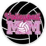 Volleyball Mom Sticker