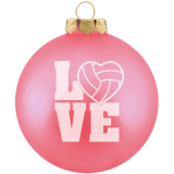 Volleyball Ornament - Love