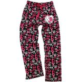 Volleyball Pink Ribbon Flannel Pants