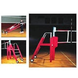 Aluminum Universal 2-Pole Complete Volleyball System
