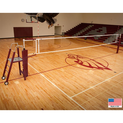 Aluminum Ace 2-Pole Complete Volleyball System