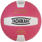 Tachikara SV5WSC 2-Color Volleyball - Pink