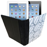 iPad Notebook Cover - Volleyballs