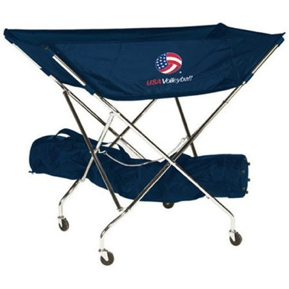 USA Volleyball Drill Cart