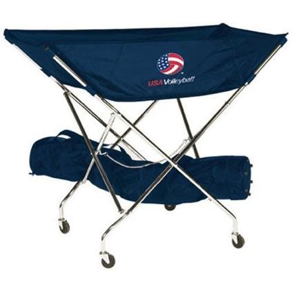 USA Volleyball Drill Cart