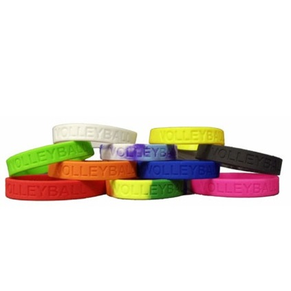 Volleyball Silicone Bracelet