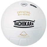 Tachikara SV5WS White Volleyball