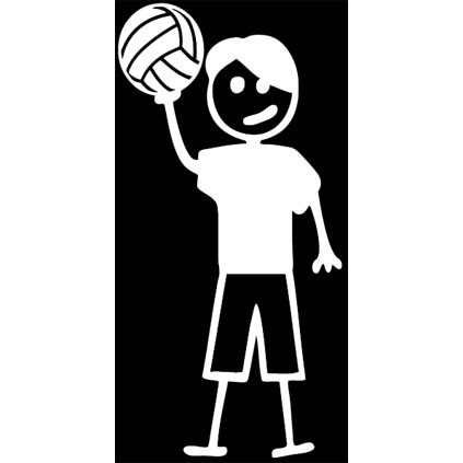 Volleyball Stick Boy