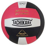Tachikara SV5WSC 3-color Volleyball - Pink/White/Black