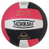 Tachikara SV5WSC 3-color Volleyball - Pink/White/Black