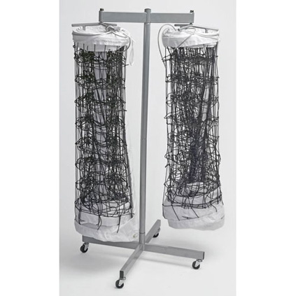 Double Net Storage Rack