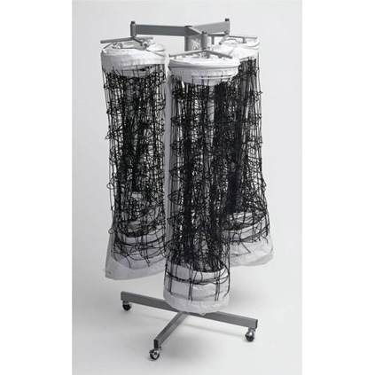 Triple Net Storage Rack